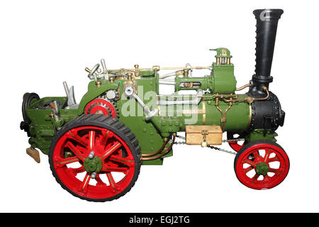 Model Steam Traction Engine Cut-out - Stock Photo