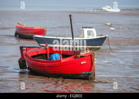Boats waiting for the tide in their mud berths in skippool for Inshore fishing boats