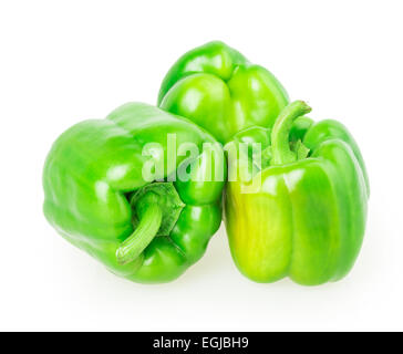 pepper isolated on white background - Stock Photo
