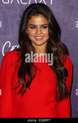 Women in Film & Television Pre-Emmy Party with Variety at Gracias Madre Featuring: Selena Gomez Where: West Hollywood, - Stock Photo
