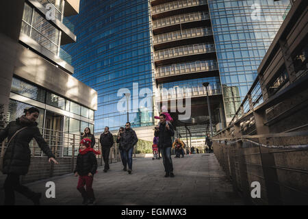 District of Porta Nuova in Milan - Stock Photo