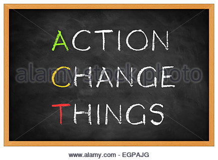 action change things-  background concept - Stock Photo