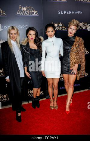 Los Angeles, California, USA. 27th February, 2015. GRL 3RD Annual The Noble Award 2015 27/02/2015 Beverly Hills - Stock Photo