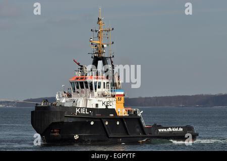 Tugboat Kiel - Stock Photo