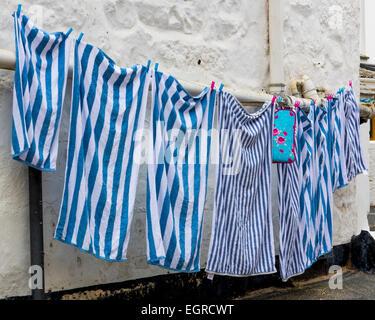 Washing on line - Stock Photo
