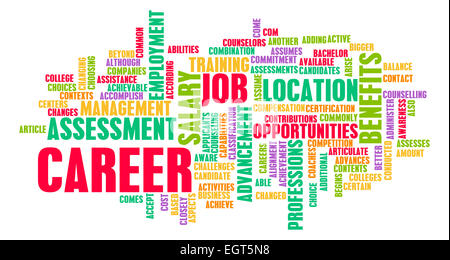 Job Career Search and Business Talent as Concept - Stock Photo