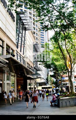 Queen Street Brisbane Cafe