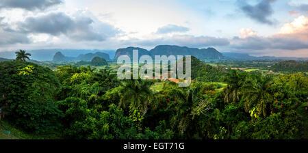 Valle De Los Ingenios, Pinar del Rio Province, Cuba - Stock Photo