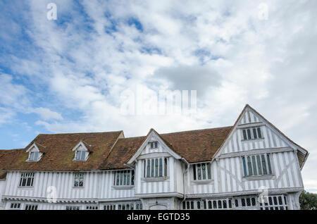 Lavenham Guildhall, Sudbury, Suffolk, UK - Stock Photo
