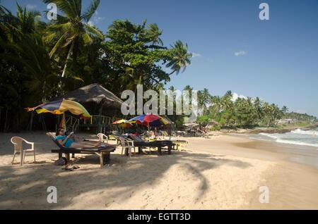 Goyambokka beach near Tangalle, Sri Lanka - Stock Photo