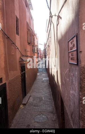 Streets of marrakesh, Morocco - Stock Photo