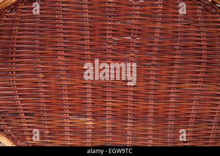 close up of the bamboo woven - Stock Photo
