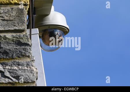 CCTV Surveillance Video Camera - Stock Photo