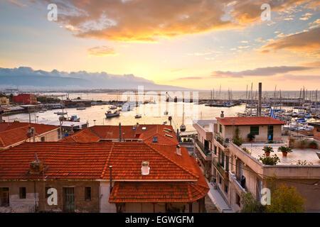Morning in Mikrolimano marina in Piraeus, Athens, Greece. - Stock Photo