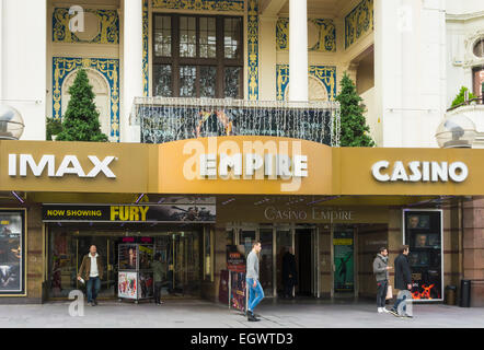 Empire IMAX Cinema in  Leicester Square, London, UK - Stock Photo