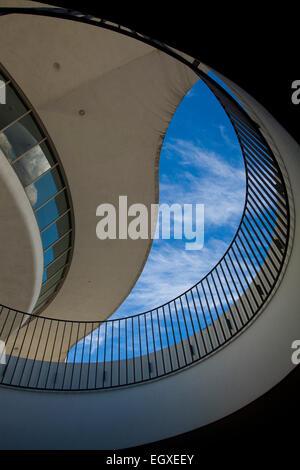 Theme building, Los Angeles International Airport - LAX - Los Angeles, California - Stock Photo