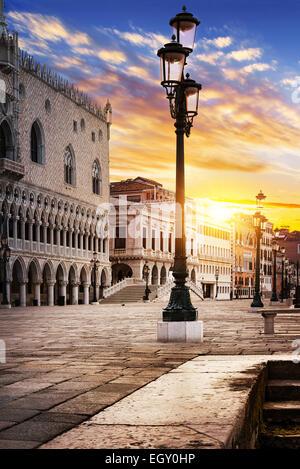 Saint Mark square Venice, Venezia, Italy, Europe