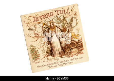 This four track EP by Jethro Tull was issued on the Chrysalis label in 1976. - Stock Photo