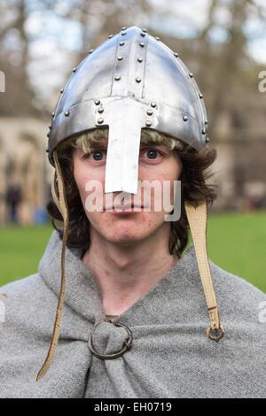 People taking part in the Jorvik Viking Festival, York 2015 - Stock Photo