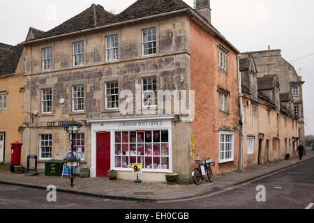 The village Post Office in Corsham, Wiltshire - Stock Photo