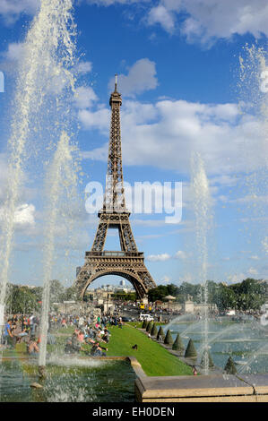 paris, tour eiffel - Stock Photo