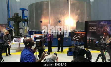 State of NASA event at NASA's Marshall Space Flight Center on Monday, Feb. 2   On Monday, Feb. 2 NASA Marshall invited - Stock Photo