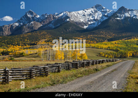 Last Dollar Ranch in Colorado, USA - Stock Photo