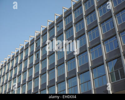 TURIN, ITALY - FEBRUARY 19, 2015: Palazzo Nuovo meaning New Palace are the headquarters of Turin university - Stock Photo