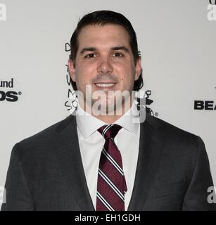 New York, NY, USA. 4th Mar, 2015. Zak DeOssie at arrivals for Children's Defense Fund-New York's Beat the Odds Gala, - Stock Photo