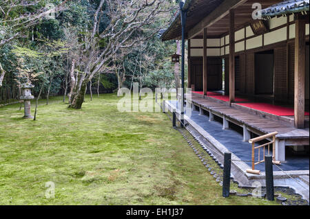 Koto-in Zen Buddhist temple, Daitoku-ji, Kyoto, Japan. - Stock Photo