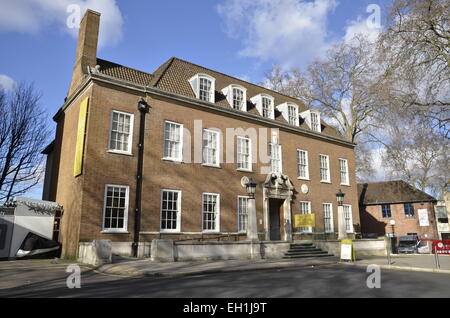 The Foundling Museum in Bloomsbury, London - Stock Photo