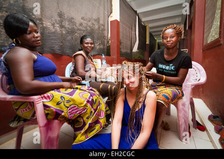 Surgical emergency project at the General Hospital MSF of Bangui ,Central African Republic ,Africa - Stock Photo