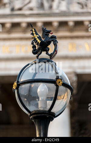 The City Of London Dragon Symbol Of City Of London Stock Photo