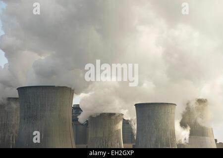 Cooling Towers, Neurath Power Station, North Rhine-Westphalia, Germany