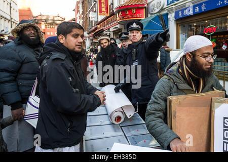 FILE IMAGES: London, UK.  22nd Nov, 2013.  Islamist Abu Rumaysah - real name Siddhartha Dhar, currently in Syria - Stock Photo