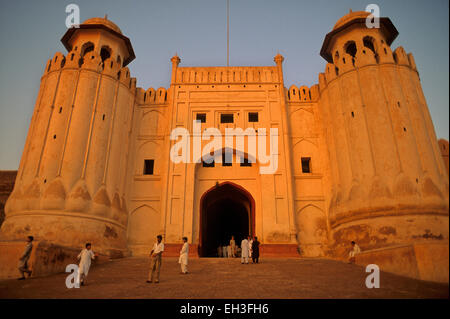 Alamgiri Gate of Lahore Fort, Lahore, Pakistan - Stock Photo