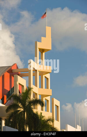 MIAMI BEACH CONVENTION CENTER MIAMI BEACH FLORIDA USA - Stock Photo