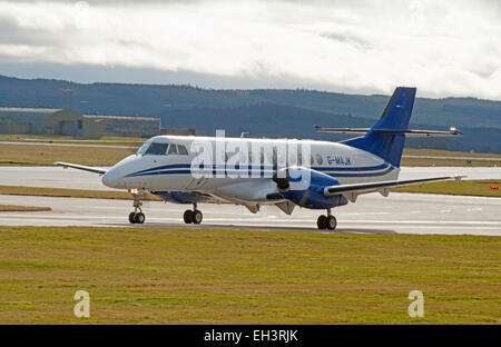 BAe Jetstream 4102 Turboprop short haul regional passenger transport commuter Civil airliner.  SCO 9630 - Stock Photo