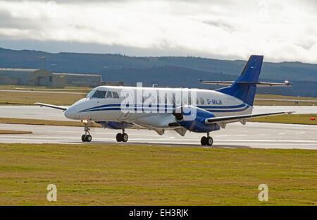 BAe Jetstream 4102 Turboprop short haul regional passenger transport commuter Civil airliner.  SCO 9630 - Stock Photo