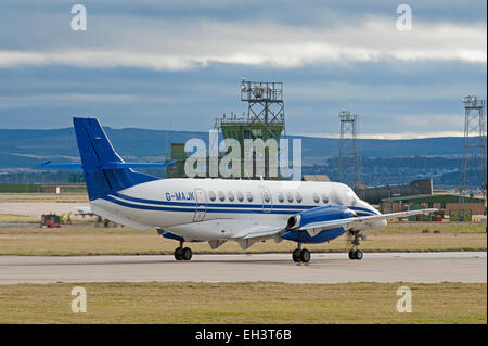 BAe Jetstream 4102 Turboprop short haul regional passenger transport commuter Civil airliner.  SCO 9616. - Stock Photo