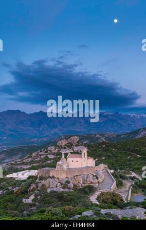 France, Haute Corse, Notre Dame de la Serra - Stock Photo