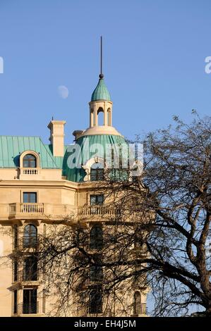 Azerbaijan, Baku, Four Seasons hotel in the Old City listed as World Heritage by UNESCO - Stock Photo