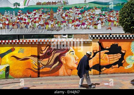 Wall Painting On The Street Of Old Havanacuba Stock Photo Royalty Free Image 95643242