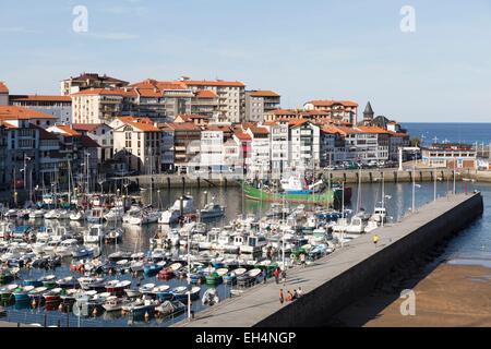 Spain, Vizcaya Province, Basque Country, Lekeitio