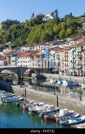 Spain, Vizcaya Province, Basque Country, Ondarroa