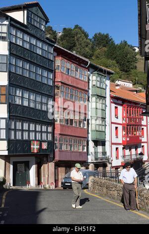 Spain, Vizcaya Province, Basque Country, Elantxobe