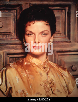 JANE RUSSELL (1921-2011) US film actress about 1958 - Stock Photo