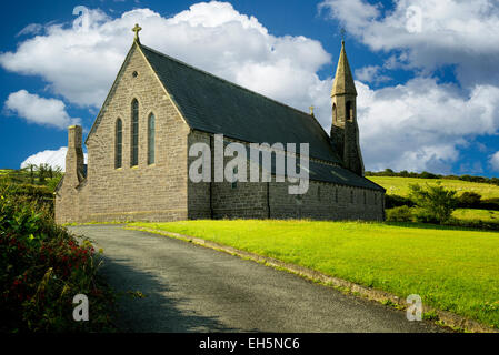 Church of John the Baptist. Catholic church in Dingle, Ireland - Stock Photo