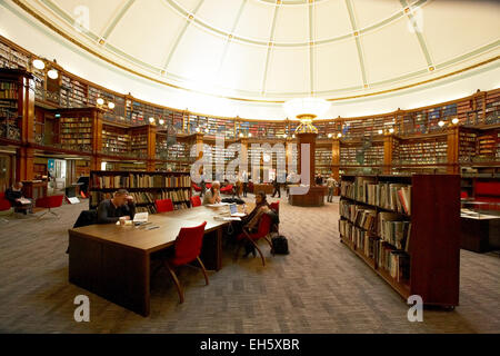 Picton reading rooms in Central Library Liverpool Merseyside UK - Stock Photo