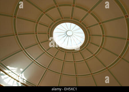 Ceiling in Picton reading room Central Library Liverpool Merseyside UK - Stock Photo